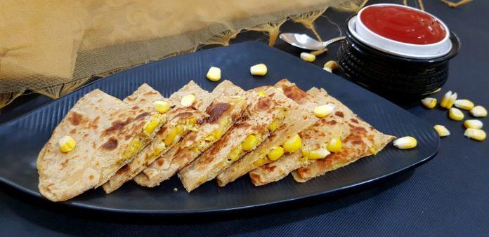 Makai Cheese Paratha