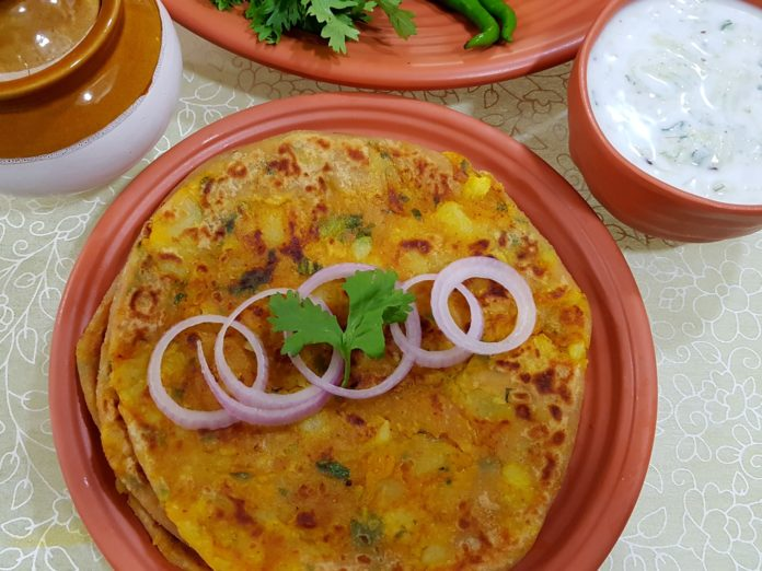 Spicy Aloo Paratha