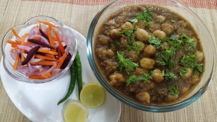 Easy Punjabi Chole recipe