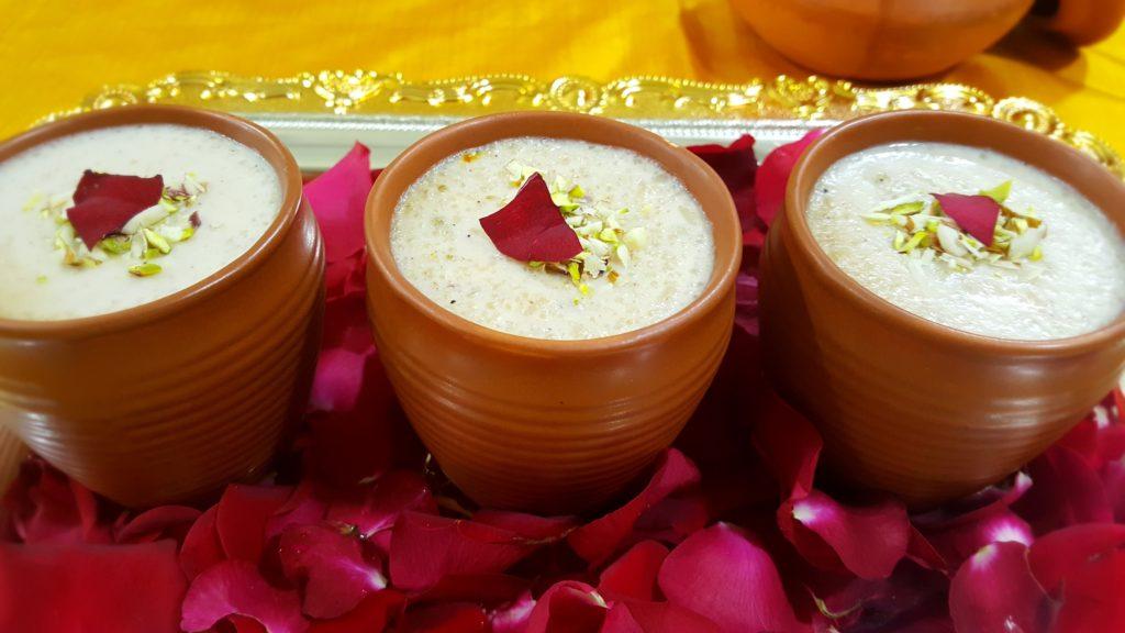 Holi special dessert