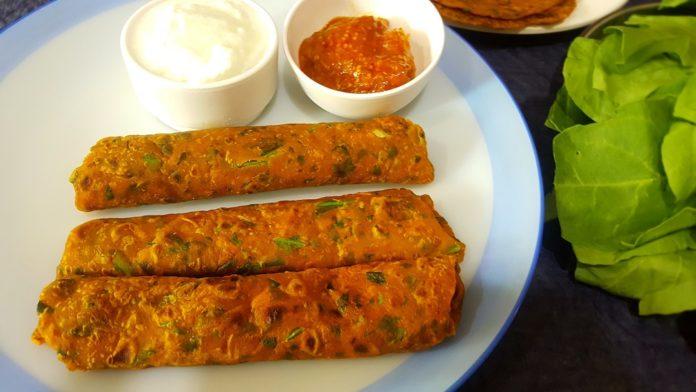 Healthy paratha recipe