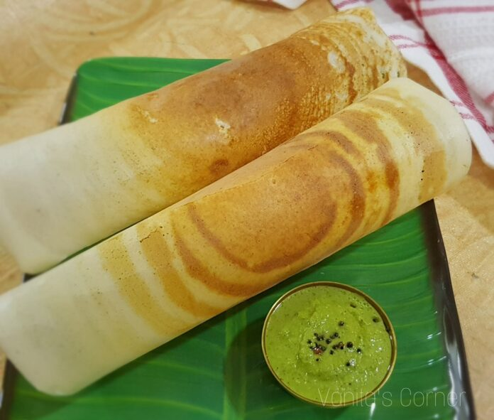 How to make Saada Dosa