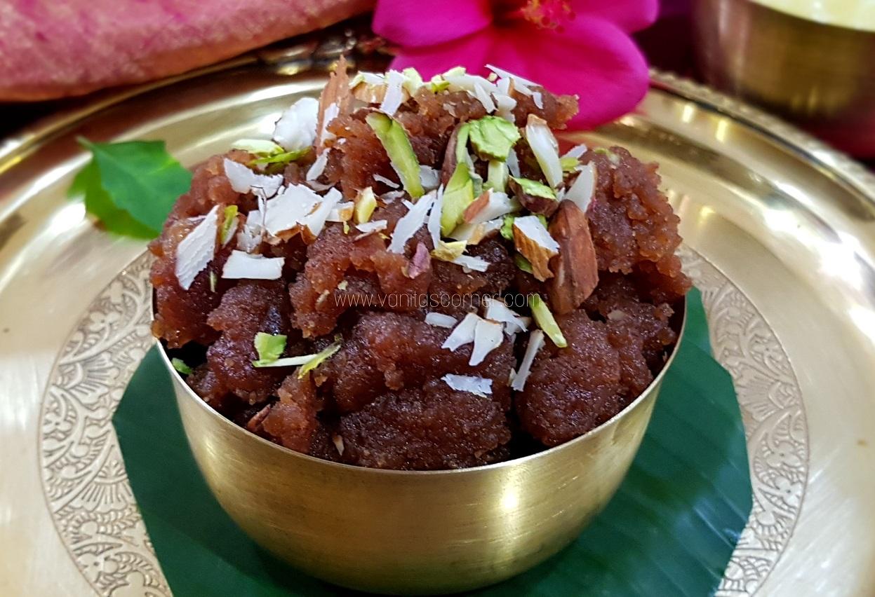 Singhada Aata Halwa