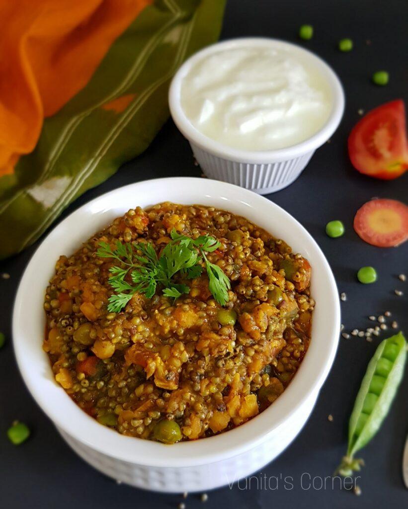 Pearl Millet Khichdi