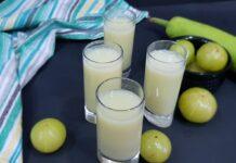 Bottlegourd & Gooseberry juice