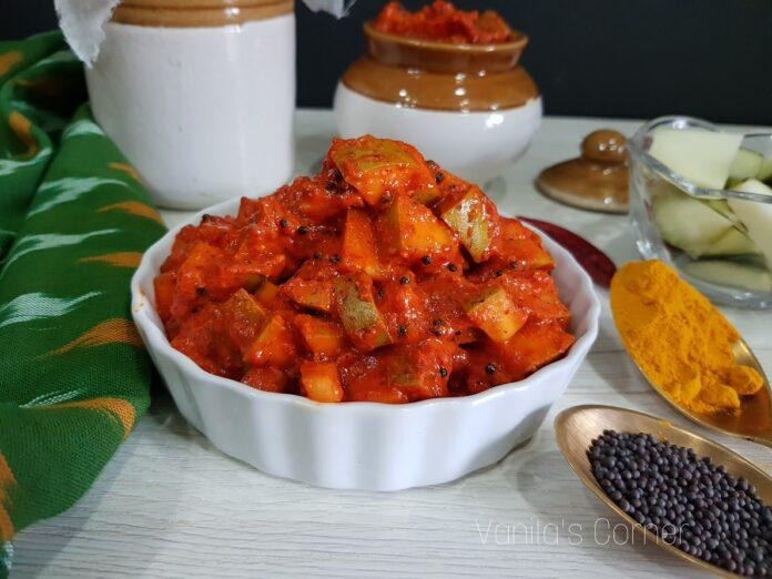 Mangalorean Mango Pickle