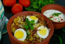 Chicken Kheema Biryani