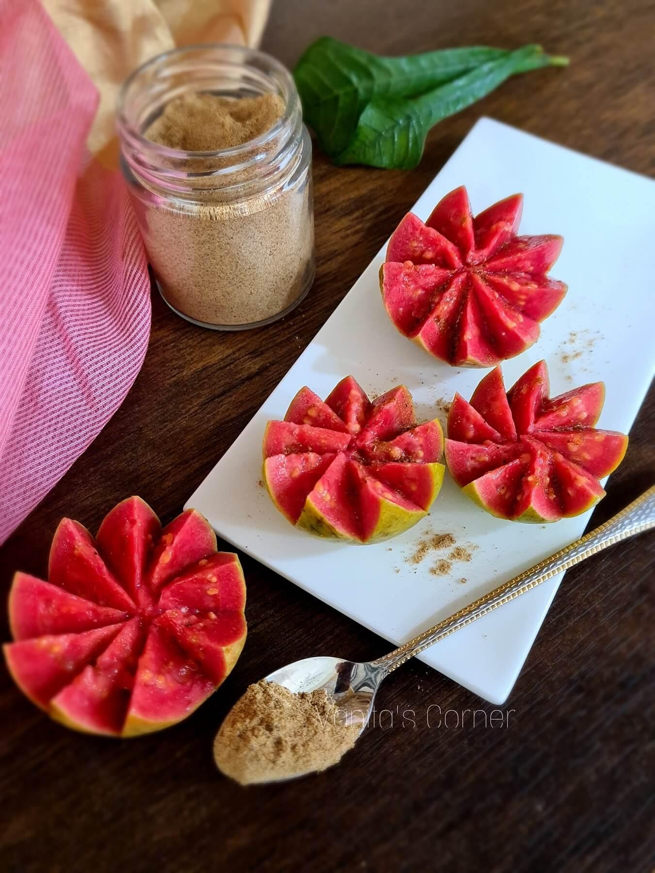 Guava food art