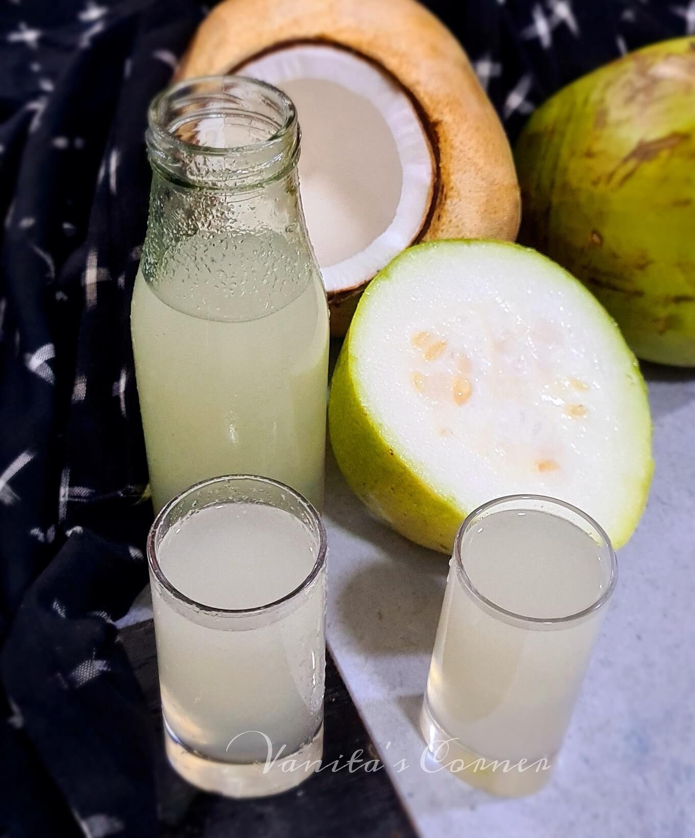 Ashgourd Coconut Juice