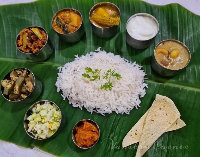 Mangalorean Janmashtami meal