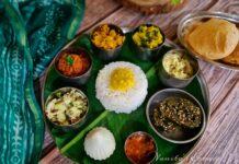 Maharashtrian festive meal